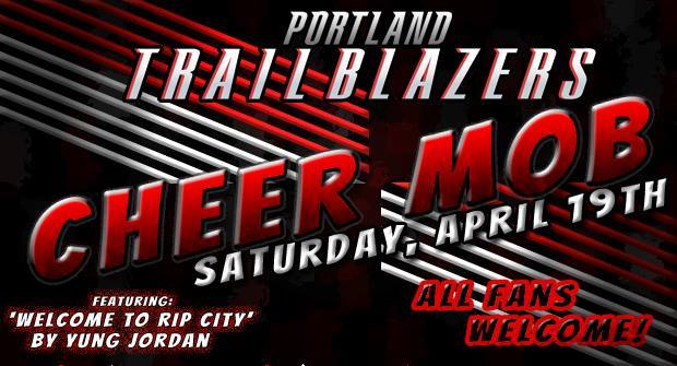Portland Trail Blazers Cheer Mob