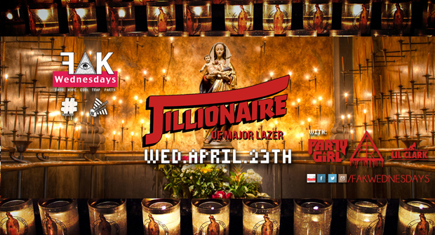 Fak Wednesday & Blvcklxrds present – Jillonaire of Major Lazor