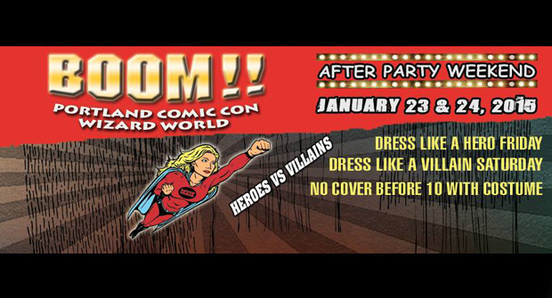 Heros & Villains Comic Con After party @ Dixie Tavern