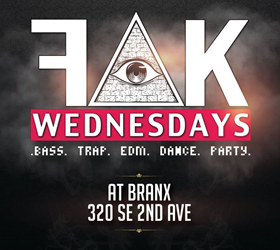 FAK WEDNESDAYS AT BRANX