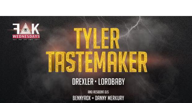TYLER TASTE MAKER // FAKWEDNESDAYS
